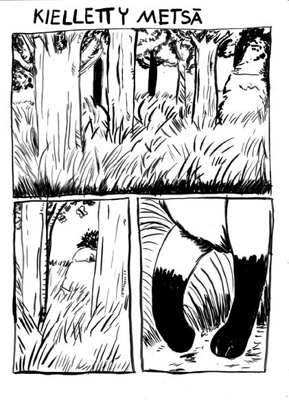 Kieletty metsä