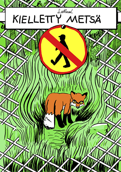 Kielletty metsä -kansi